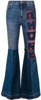 Dolce & Gabbana flared Amore jeans
