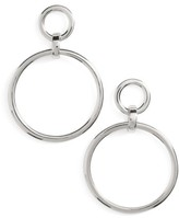 Nordstrom Women's Frontal Hoop Earrings