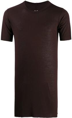 Rick Owens longline crew neck T-shirt