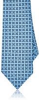 Barneys New York Men's Floral Medallion Silk Foulard Necktie