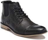 Grey Boots Lace Up Steve Madden   over