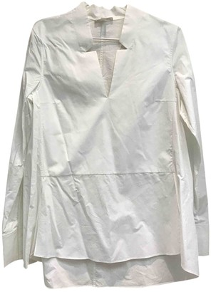 Cos White Cotton Top for Women