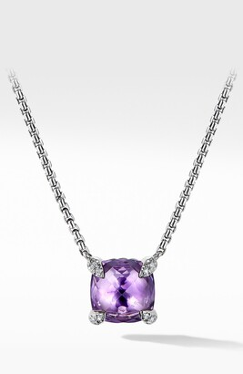David Yurman Chatelaine Pendant Necklace with Diamonds