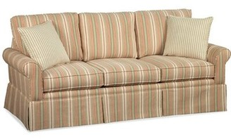 Braxton Culler Eastwick Queen Sofa Bed Upholstery: Blue Stripe