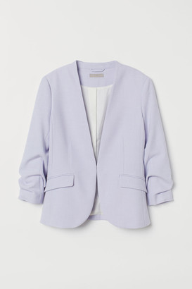 H&M Fitted Jacket - Purple
