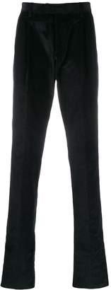 Caruso corduroy pleat trousers