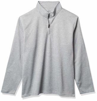 Van Heusen Men's Big & Tall Tall Long Sleeve 1/4 Zip Soft Fleece