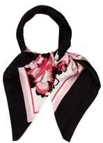 Elie Tahari Silk Floral Scarf