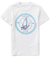 Class Club Big Boys 8-20 Short-Sleeve Yacht Graphic Tee