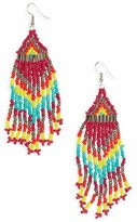 Cara Women's Beaded Drop Earrings