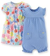 Carter's Baby Girls' 2 Piece Dress & Romper Set (Baby)