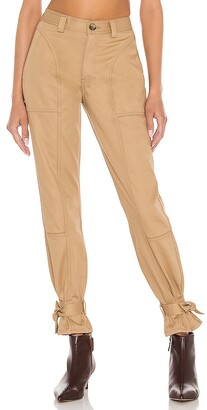 TRAVE Darcy Cinched Ankle Trouser