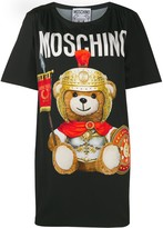 Moschino Roman teddy bear T-shirt dress