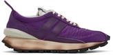 Lanvin Purple Bumper Sneakers