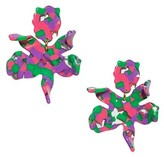 Thumbnail for your product : Lele Sadoughi Small Paper Lily Earrings