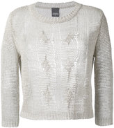 Lorena Antoniazzi cable knit jumper - women - Linen/Flax/Polyester/Viscose - 42