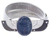 Kenneth Jay Lane Embellished Chain-Link Belt