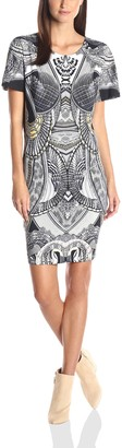 Just Cavalli Women's Leo Snake Print Jersey Dress
