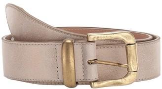 Leather Rock October Belt (Stone) Women's Belts