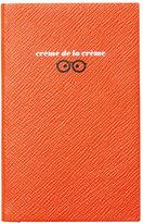 "Smythson Varham Panama ""Creme de la Creme"" Journal, Orange"