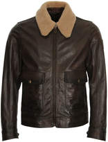 Belstaff Mentmore Blouson Jacket - Black/Brown