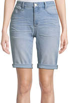 ST. JOHN'S BAY 11 Denim Bermuda Shorts
