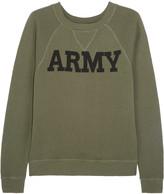 Nlst Army cotton-terry sweatshirt