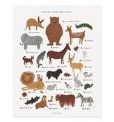 Lulu & Georgia Animal Alphabet Chart Print
