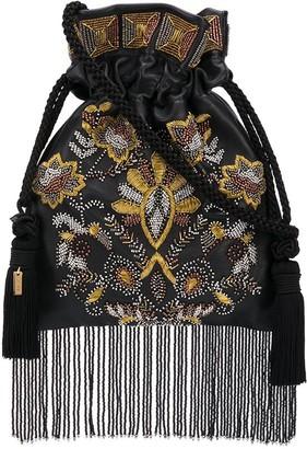 Etro Embellished Fringed Tote Bag