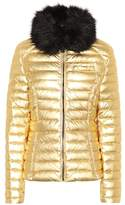 Hunter Faux fur-trimmed down coat