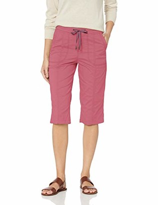 Lee Women's Flex-to-Go Relaxed Fit Pull-On Utility Capri Pant