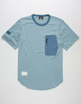Lrg Rip & Zip Mens Pocket Tee