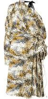 Marni Haze print asymmetric dress - women - Silk - 40