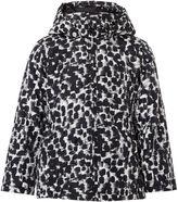 Name It Girls Animal Print Long Jacket With Hood