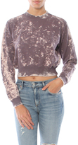 Cotton Citizen The Milan Cropped Crewneck Sweatshirt With Grinding