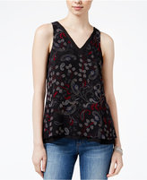 Sanctuary Rose Sleeveless Printed Top