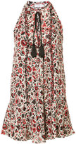 A.L.C. floral print sleeveless dress - women - Silk/Polyester - 4