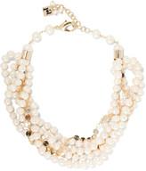 Rosantica Gioia layered gold-tone pearl necklace