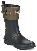 Barbour SHORT COLOUR BLOCK WELLY BLACK / OLIVE