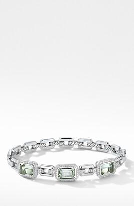 David Yurman Novella Stone & Pave Diamond Bracelet