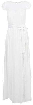 Dorothy Perkins Womens Showcase White Bridal Maxi Dress, White