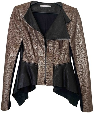 Willow Multicolour Leather Jacket for Women