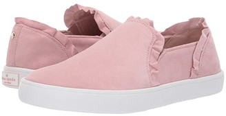 Kate Spade Lilly (Conch Shell Suede) Women's Shoes