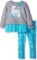 Disney Little Girls' Frozen Elsa Tunic with Tutu Legging Set