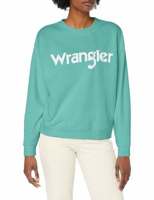 Wrangler Women's 80S Retro Sweat Sweatshirt