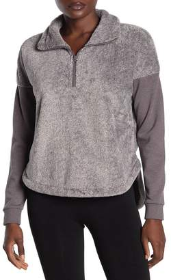 Zella Z By Pathway Faux Fur Pullover Sweater