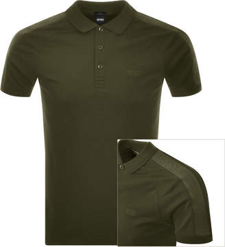 Boss Athleisure BOSS Athleisure Short Sleeved Polo T Shirt Green