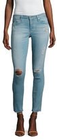 AG Adriano Goldschmied The Legging Distressed Ankle Jean
