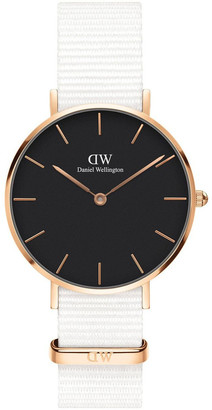 Daniel Wellington Petite Dover 32mm RG Black Dial