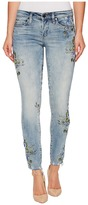 Blank NYC Denim Floral Embroidered Skinny in Back To Nature Women's Jeans